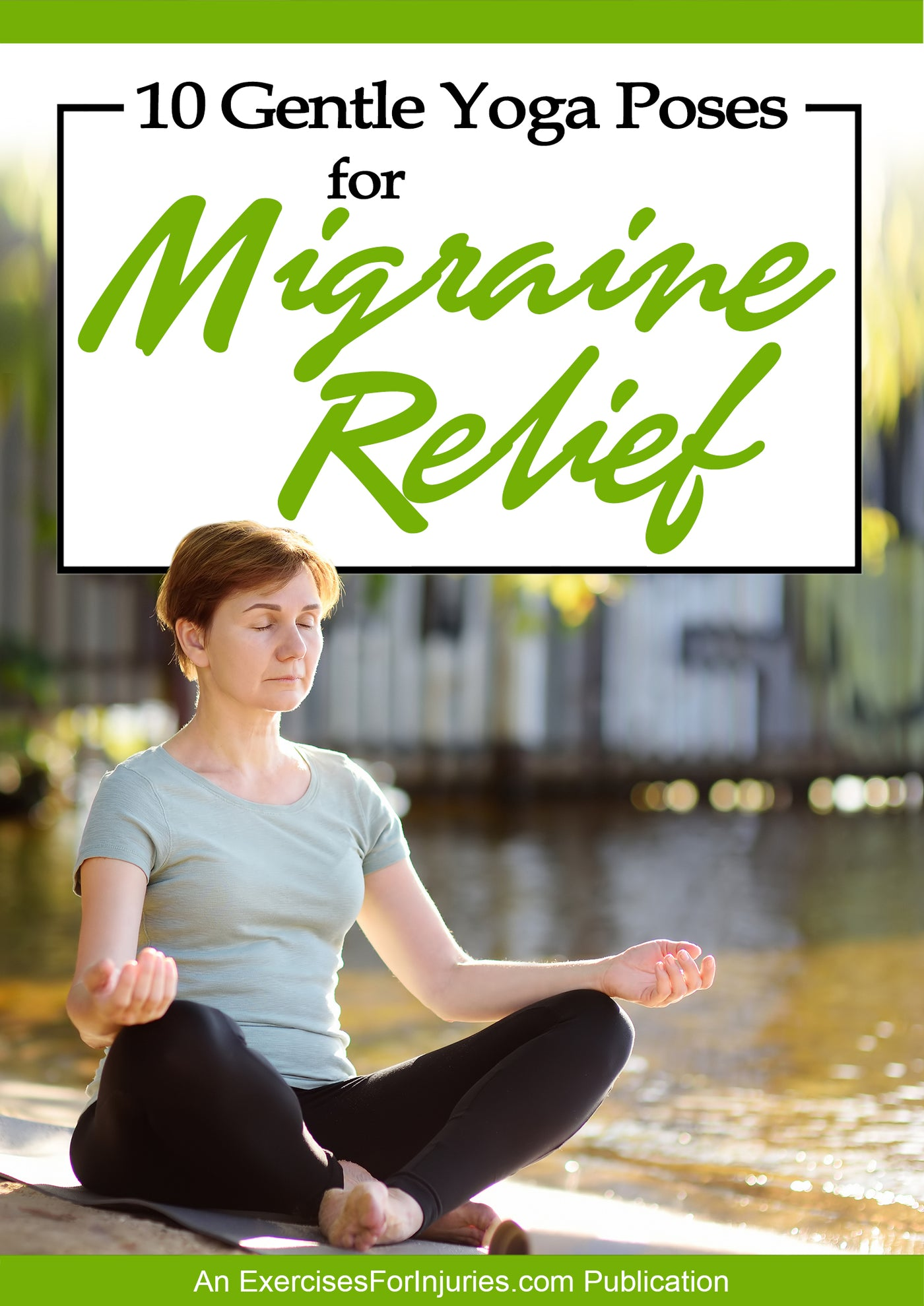 42 Gentle Yoga Poses for Migraine Relief - Digital Download (EFISP)