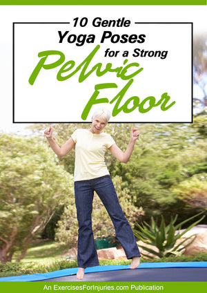 10 Gentle Yoga Poses for a Strong Pelvic Floor - Digital Download (EFISP)