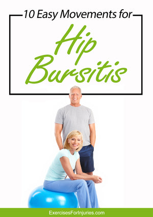 10 Easy Movements For Hip Bursitis - Digital Download (EFISP)
