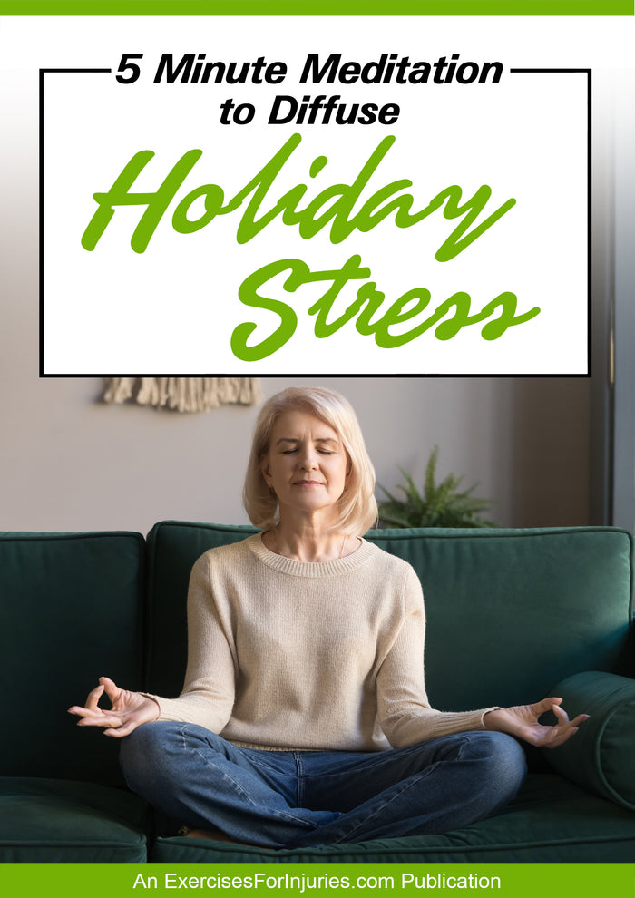 5 Minute Meditation to Diffuse Holiday Stress (EFISP)
