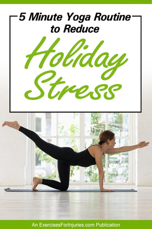 5 Minute Yoga Routine to Reduce Holiday Stress (EFISP)