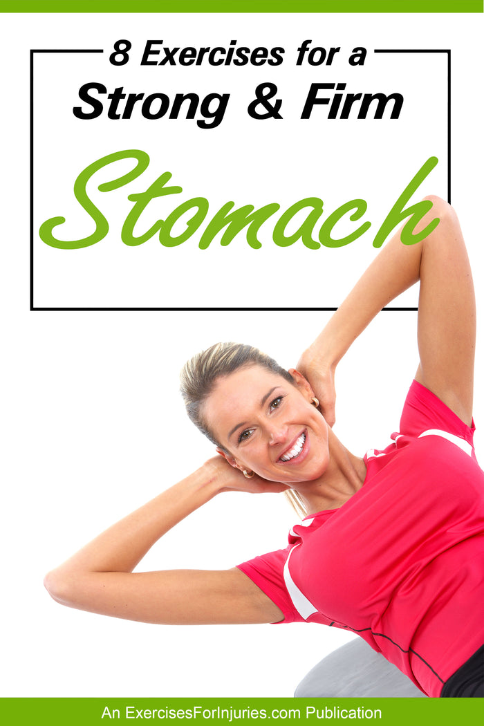 8 Exercises for a Strong & Firm Stomach - Digital Download (EFISP)