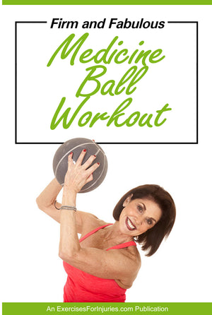 Firm & Fabulous Medicine Ball Workout - Digital Download (EFISP)