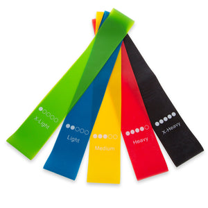 5-Piece Mini Resistance Band Kit (EFISP)
