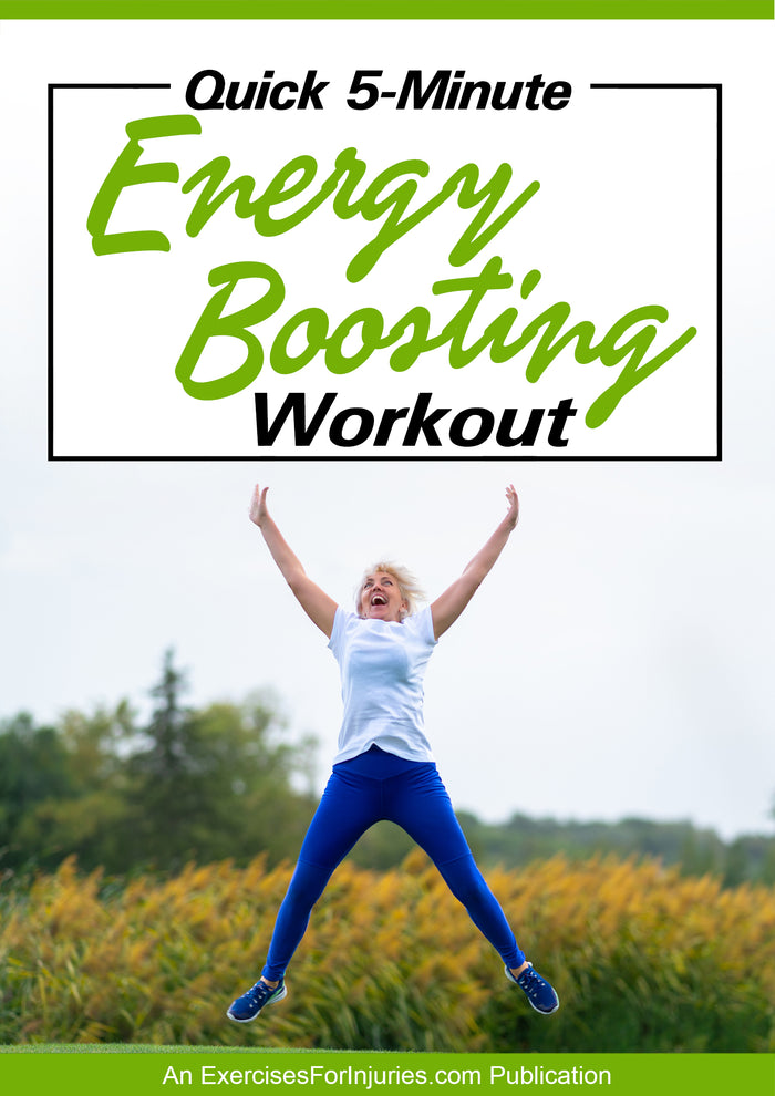 Quick 5 Minute Energy Boosting Workout (EFISP)