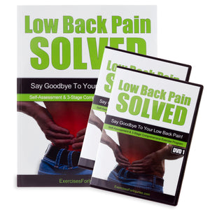 Low Back Pain Solved - Manual and DVD (EFISP)