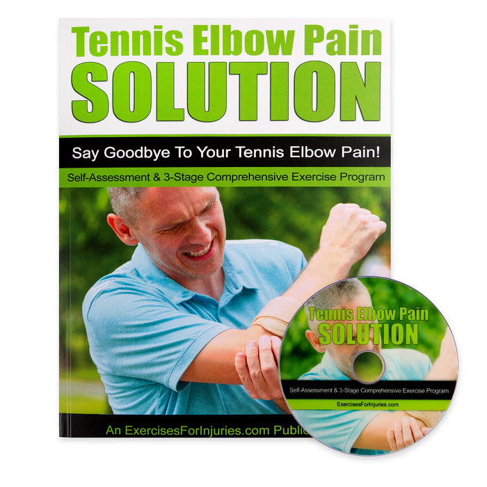 Tennis Elbow Pain Solution - Manual and DVD (EFISP)