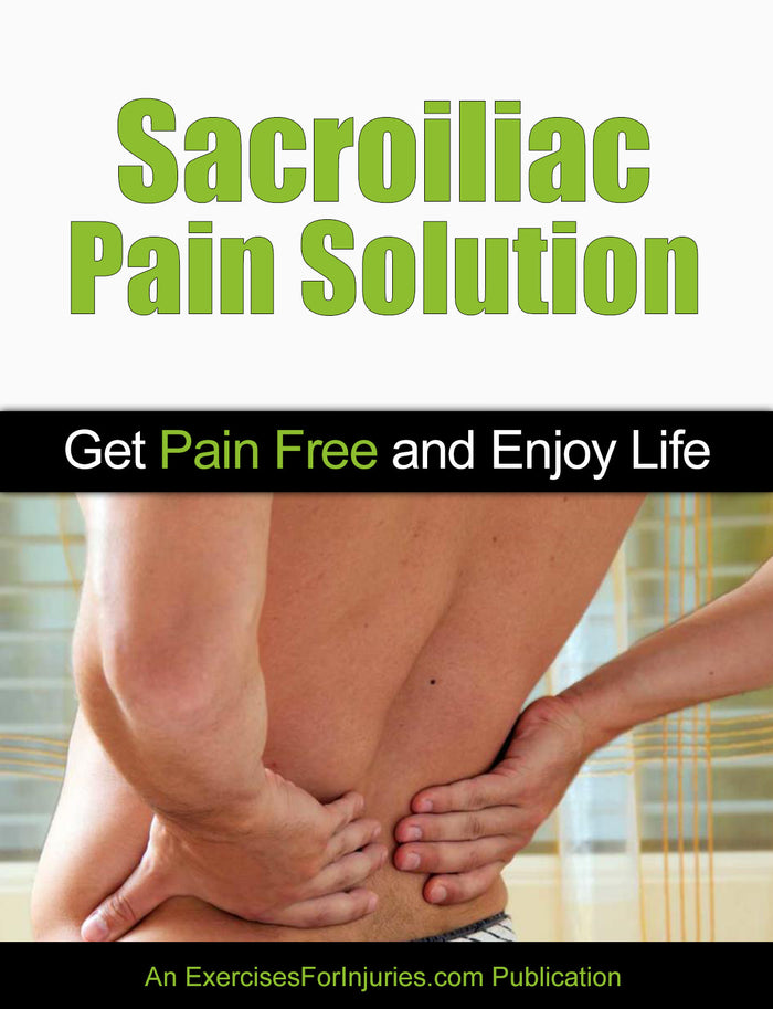Sacroiliac Pain Solution - Manual and DVD (EFISP)
