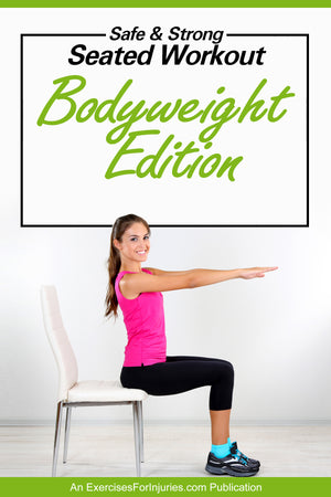 Safe & Strong Seated Workout (Bodyweight Edition) - Digital Download (EFISP)