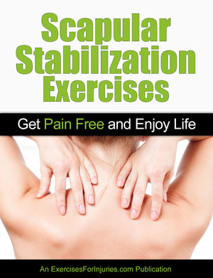 Scapular Stabilization Exercises - Digital Download