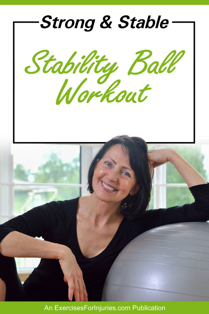 Strong & Stable Stability Ball Workout - Manual and DVD (EFISP)