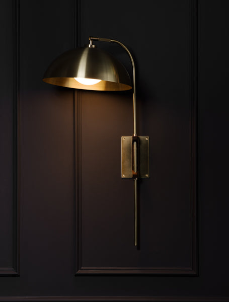 Clasp wall lamp allied maker