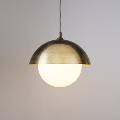 "Dome Pendant 20"" Perforated"