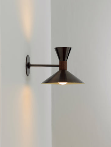 Dual Cone Sconce