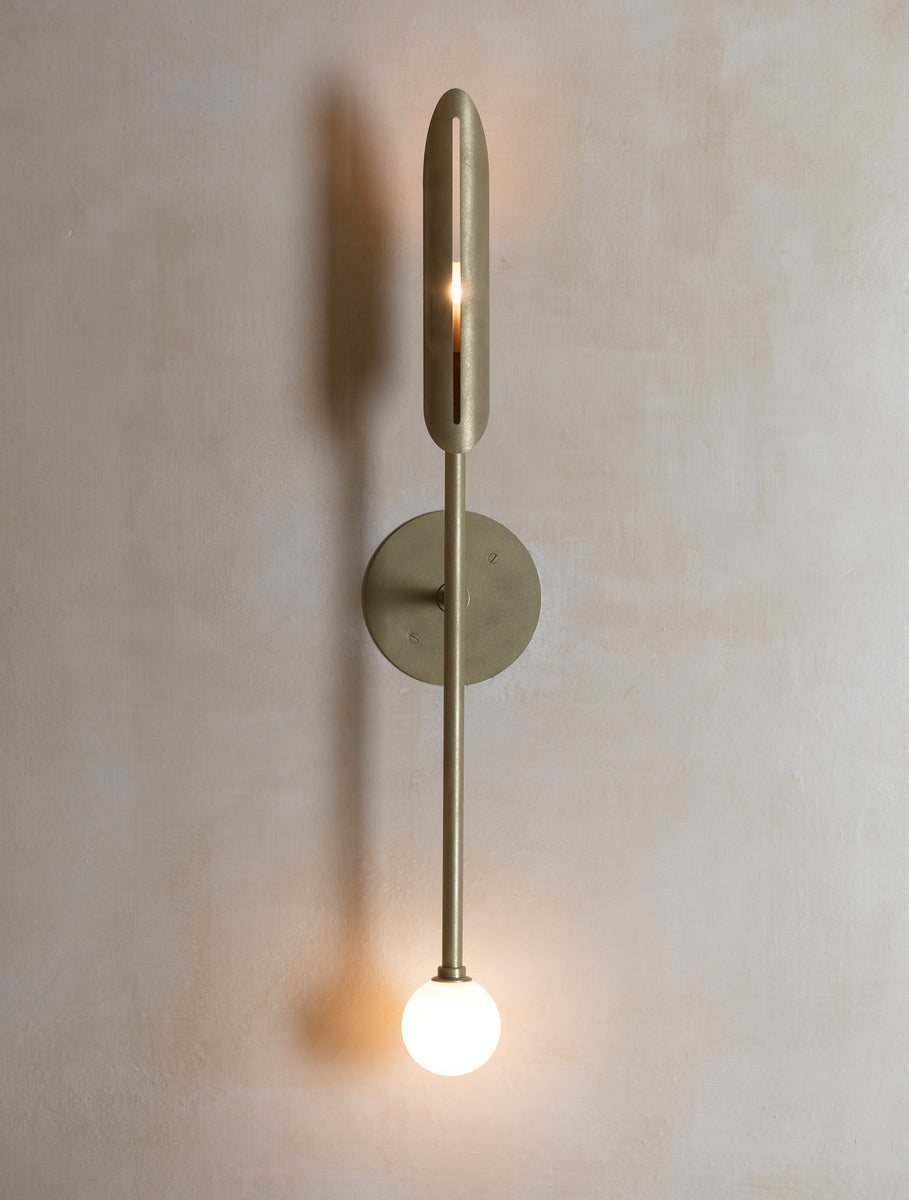 Voyager 11 Orb Sconce