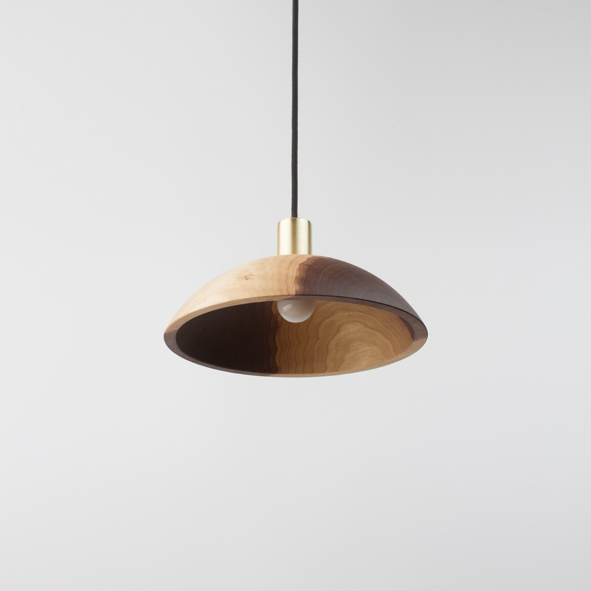 by seed interior pendant from deluxe design light dome black