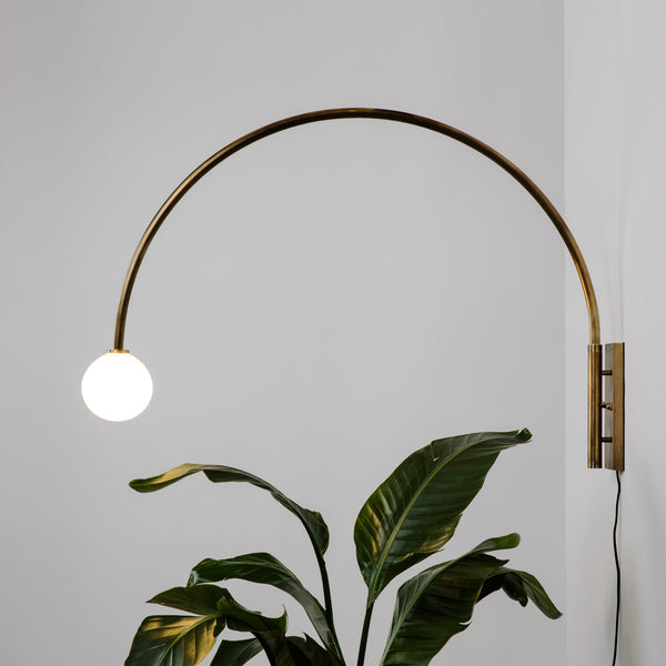 Contour wall lamp allied maker