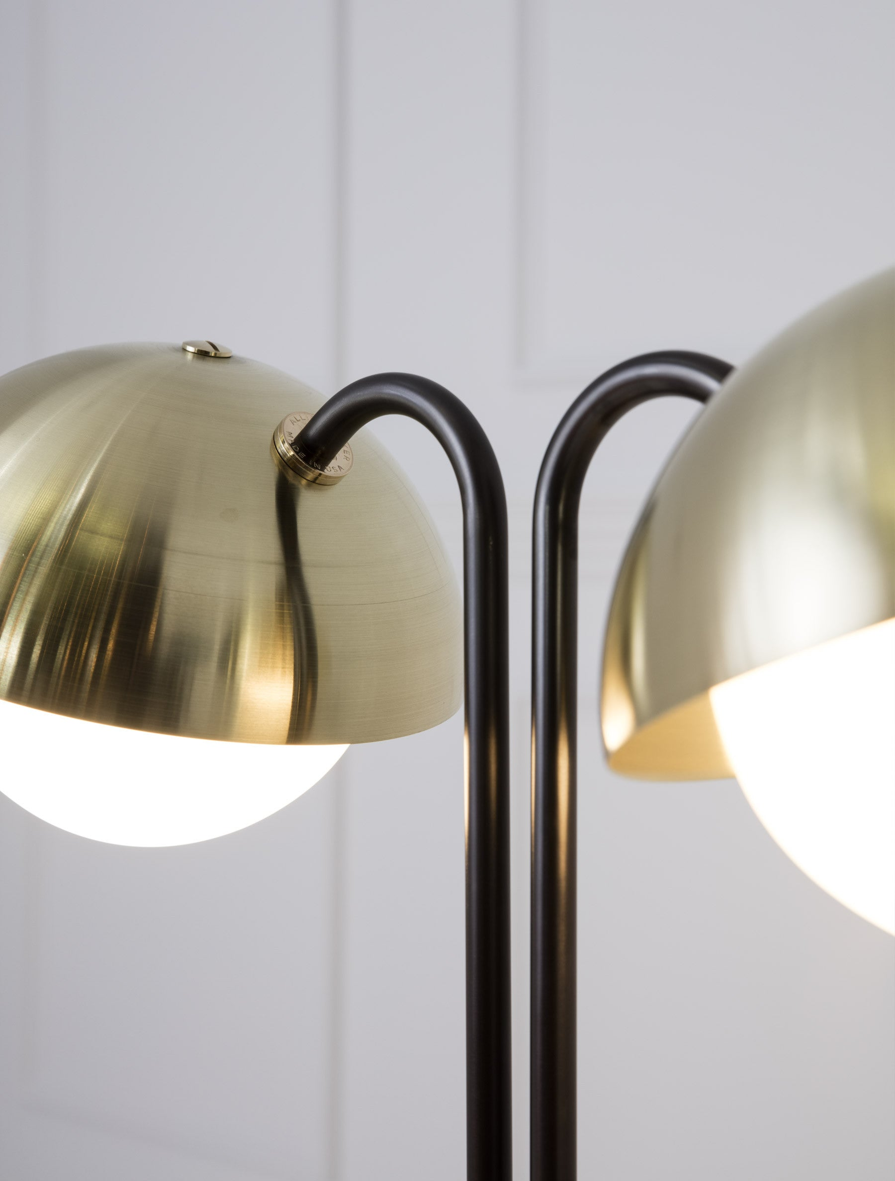 Marvelous Double Dome Table Lamp