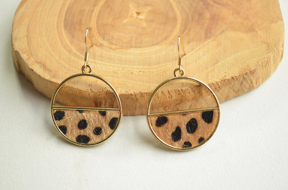 Cheetah Print Earrings, Statement Earrings, Animal Print, Cheetah Print, Gift For Her