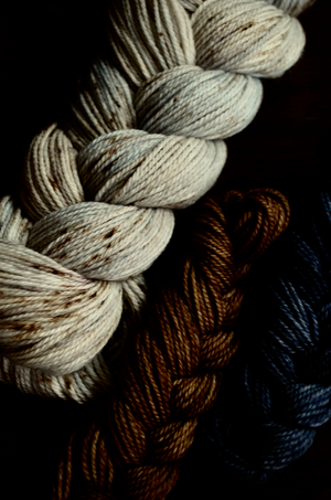 Sock Kit: Hawk Feathers