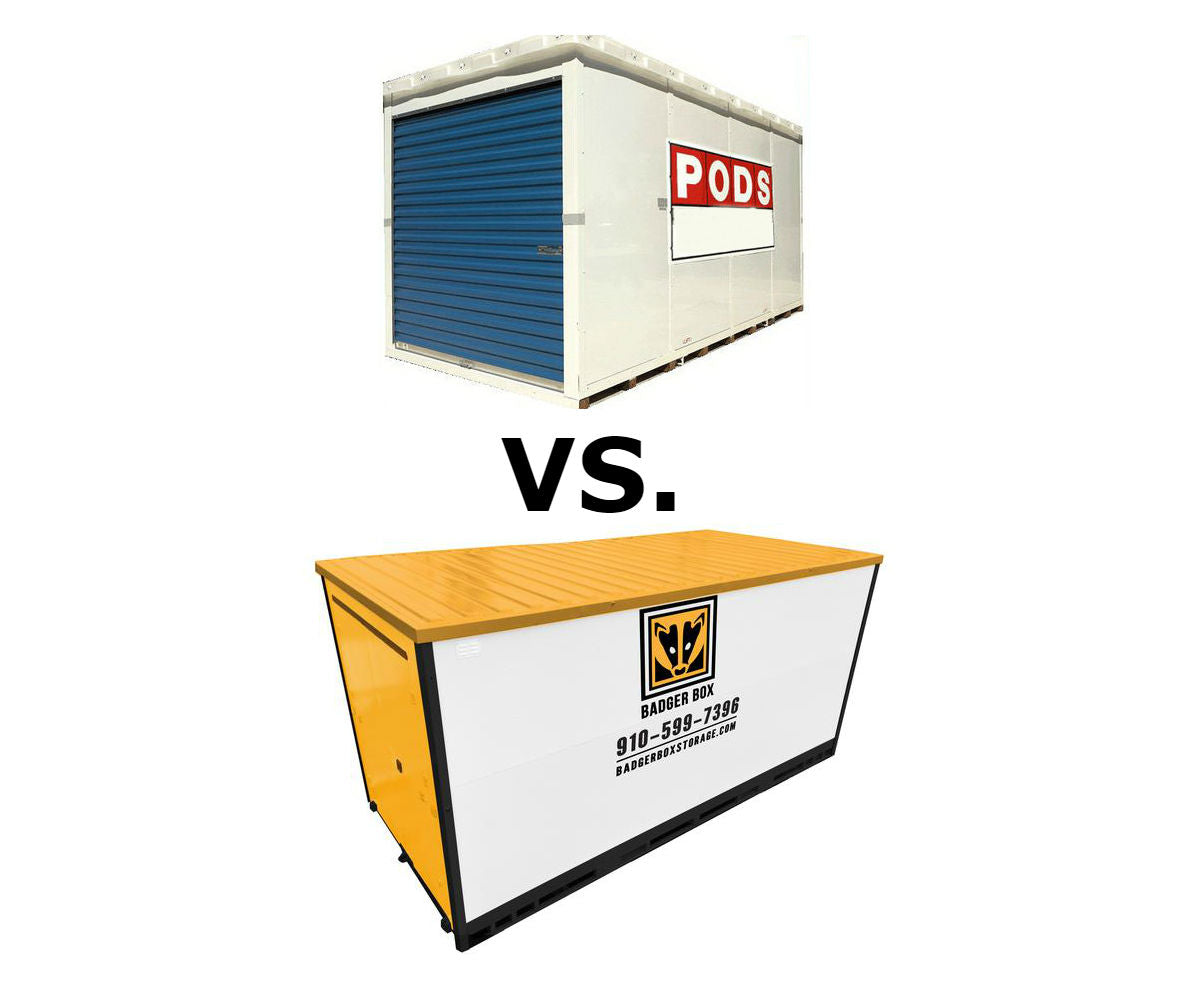 Differences Between PODS® & Badger Box® In Wilmington NC