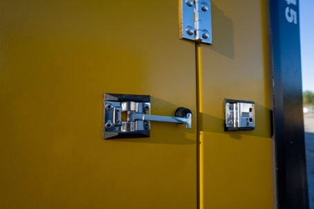Latch-Style-Swing-Doors-On-All-Portable-Self-Storage-Units-In-Wilmington-Shallotte-NC-2