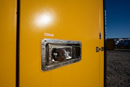 Latch-Style-Swing-Doors-On-All-Portable-Self-Storage-Units-In-Wilmington-Shallotte-NC