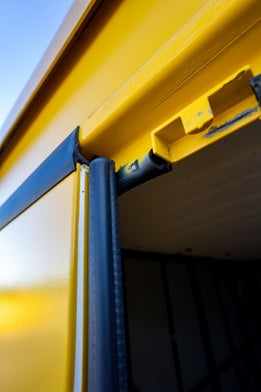 Weather-Stripping-On-All-Portable-Self-Storage-Units-In-Wilmington-Shallotte-NC