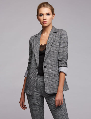 The Linden Plaid Blazer