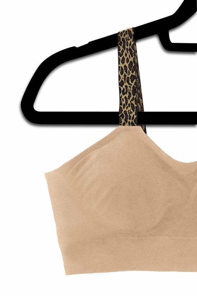 Leopard (attached to our nude bra)
