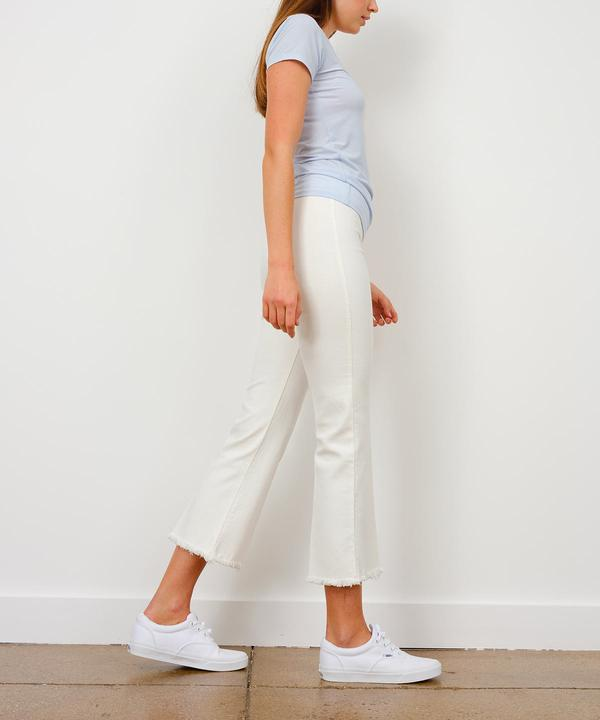 Leo White Denim