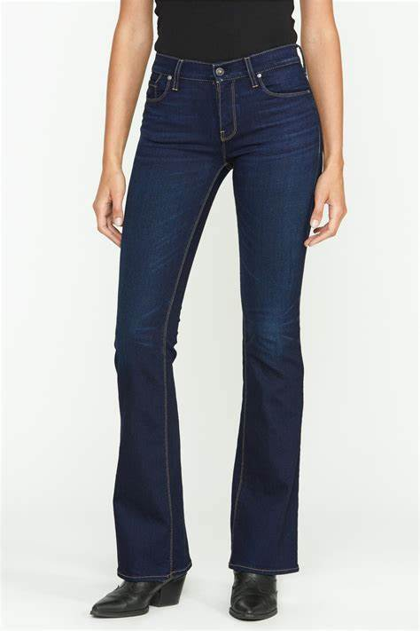 Nico Mid-Rise Boot Cut Jeans