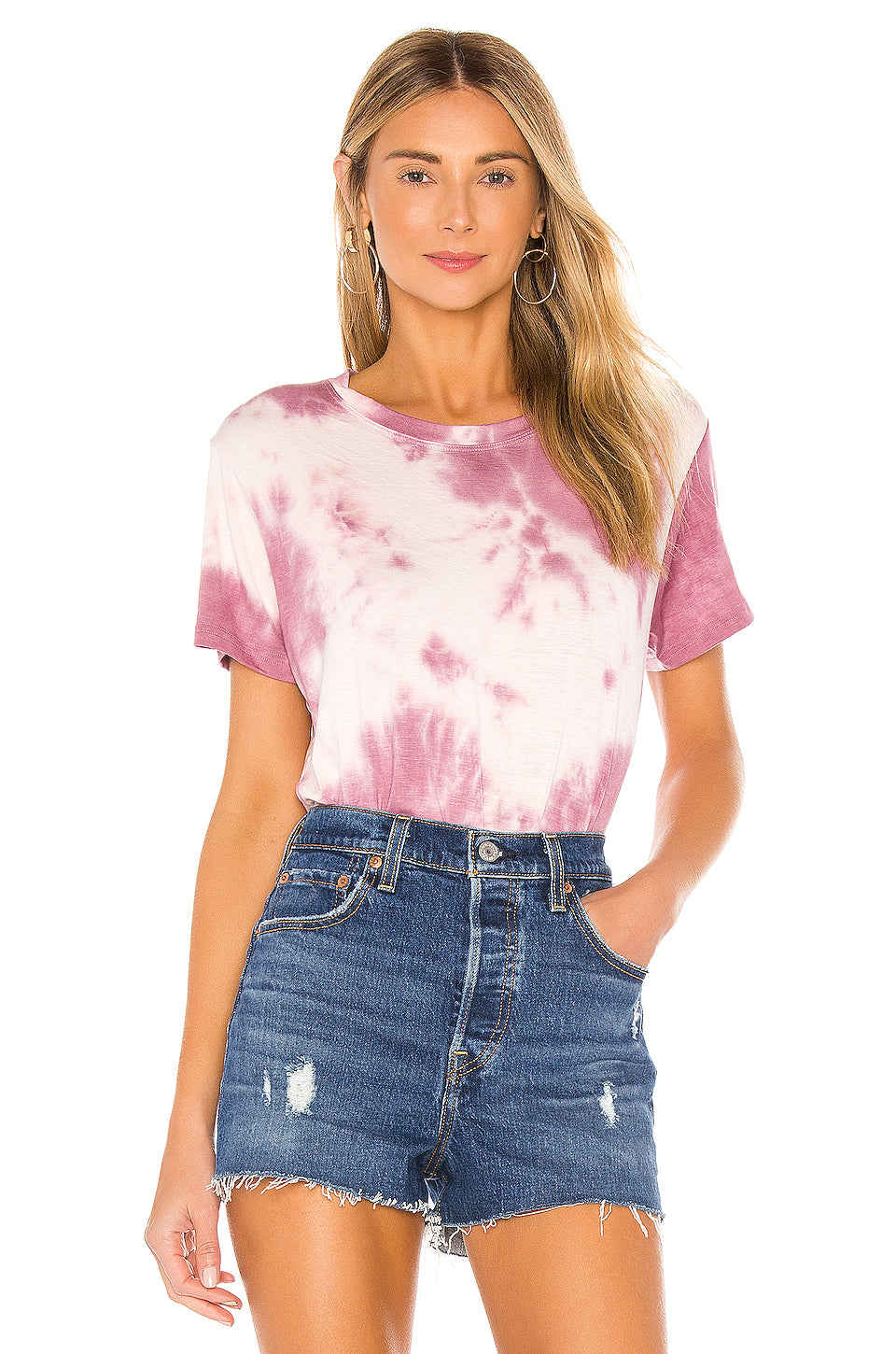 Georgia Tee in Mauve