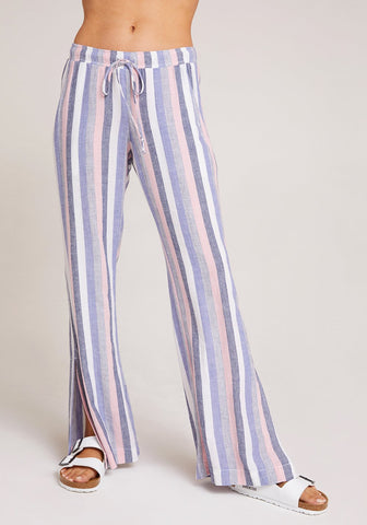 Side Slit Wide Leg Pant