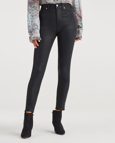Seven For All Mankind High Waist Ankle Skinny B(air)