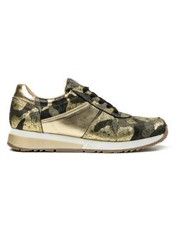 Cofi Leathers Camouflage Sneaker