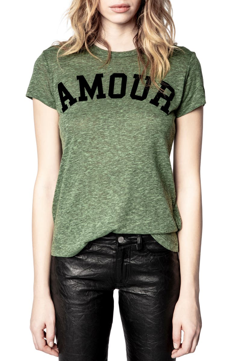 Walk Amour Graphic Tee