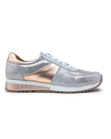 Cofi Leathers Rose Gold Sneakers