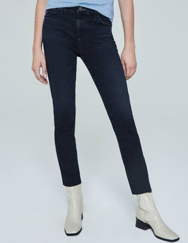 AG Mari High-Rise Straight Jeans