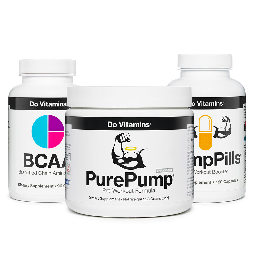 Shop Strength and Endurance - PurePump PumpPills BCAA Focus