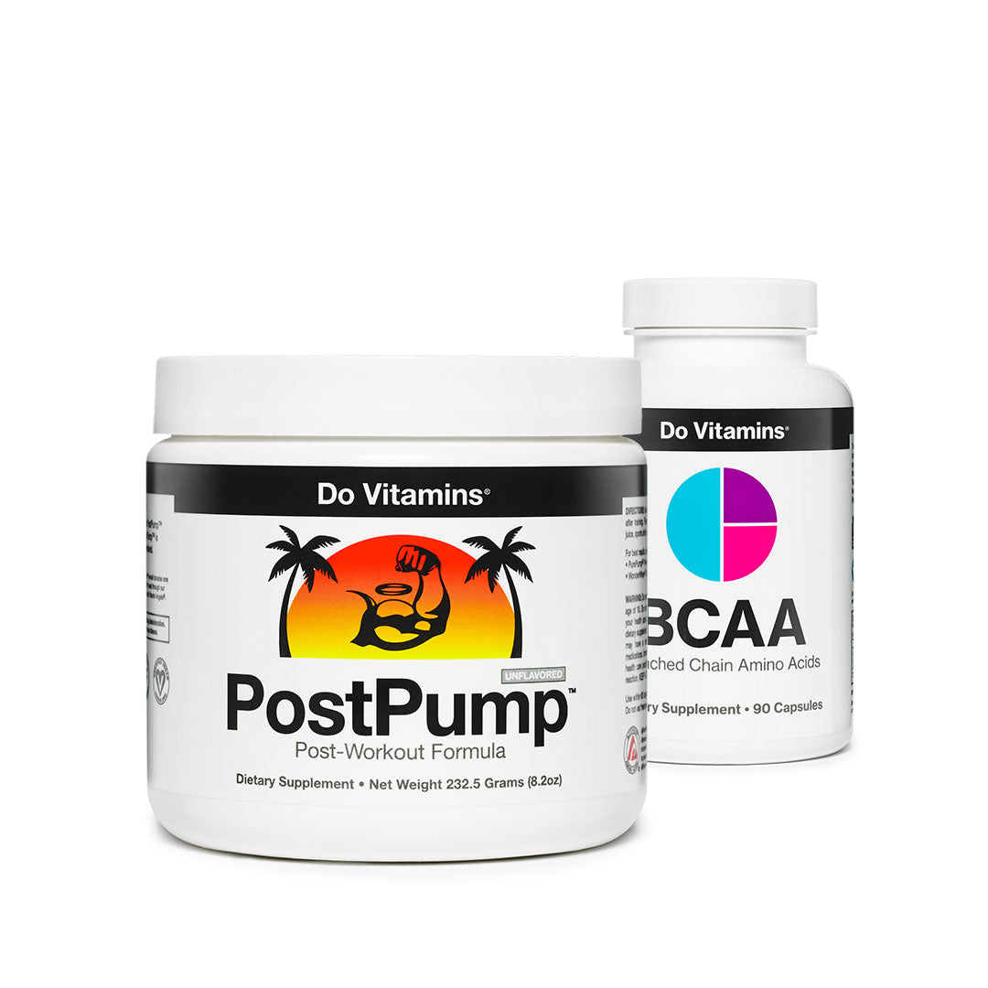 Shop Recovery and Support - PostPump BCAA Focus
