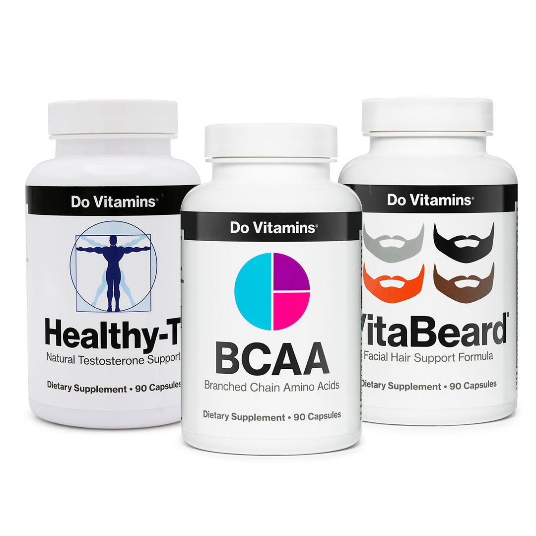 Shop Vitality and Well Being - BCAA Healthy-T VitaBeard Focus