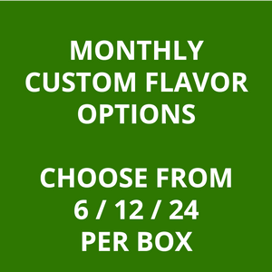 Monthly Subscriptions - Custom Smoothies