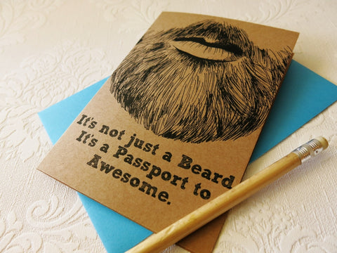Gift card - Beards are Awesome