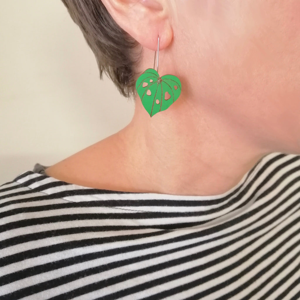 Kawakawa earrings