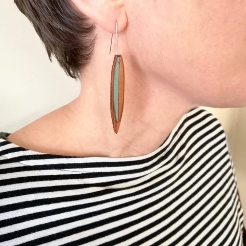 Harakeke Flax earrings