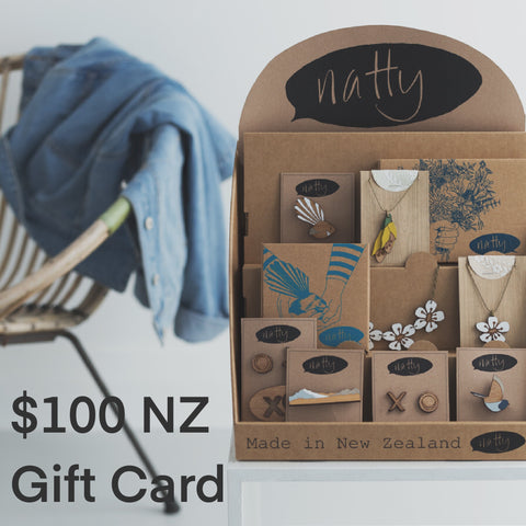 Gift Cards $NZ