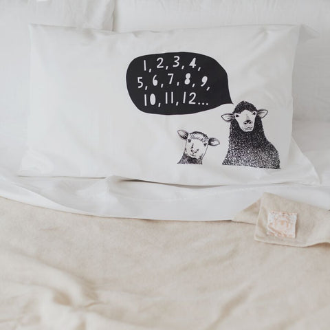 Counting Sheep Pillow case