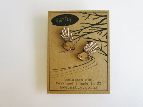 Fantail Rimu earrings