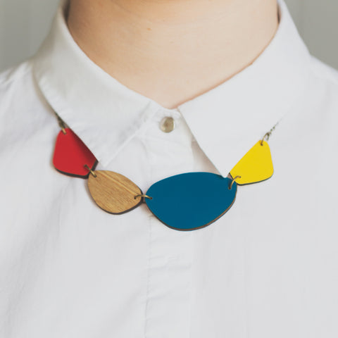 Pebble Necklace  - Reversible
